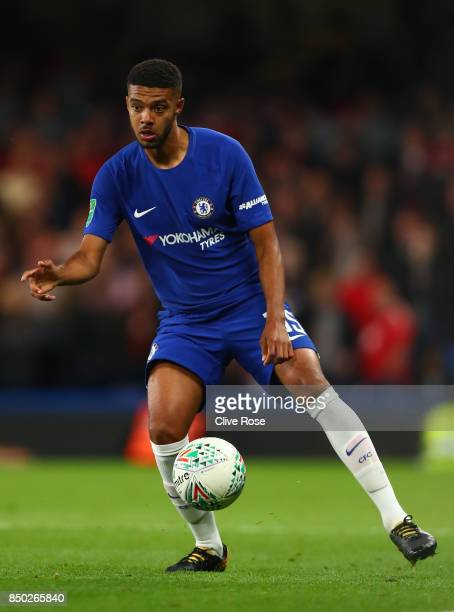Jake ClarkeSalter of Chelsea in action during the Carabao Cup Third Round match between Chelsea and Nottingham Forest at Stamford Bridge on September...