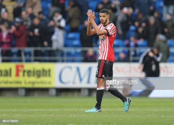 Jake ClarkeSlater of Sunderland during the Sky Bet Championship match between Cardiff City and Sunderland at Cardiff City Stadium on January 13 2018...