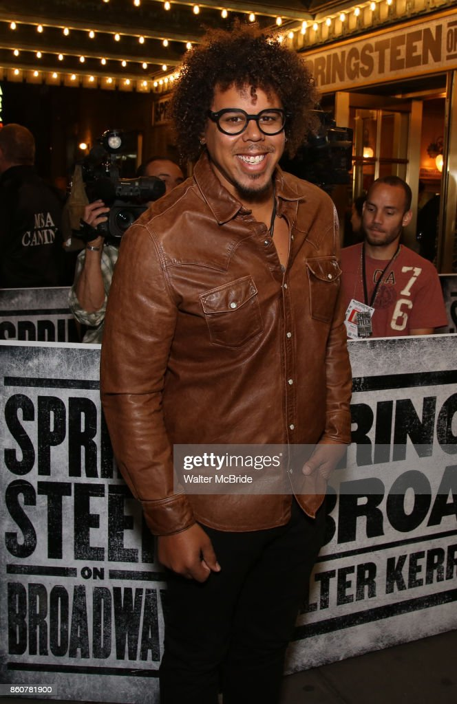 Jake Clemons attends the opening night performance for 'Springsteen on Broadway' at The Walter Kerr Theatre on October 12, 2017 in New York City.