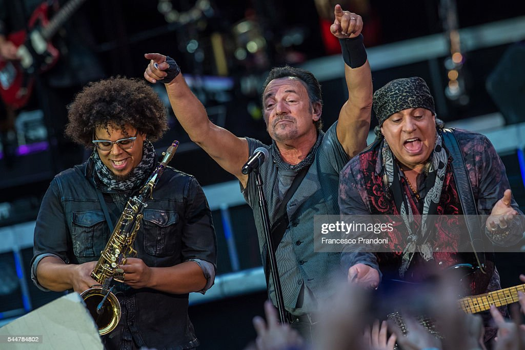 Bruce Springsteen Performs In Milan : News Photo