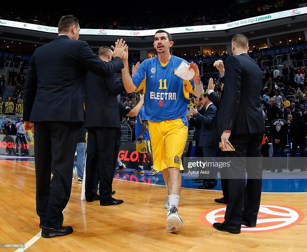 Fenerbahce Ulker Istanbul v Maccabi Electra Tel Aviv - Turkish Airlines Euroleague Play Off