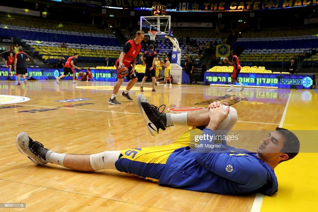 Maccabi Fox Tel Aviv v Baskonia Vitoria Gasteiz - Turkish Airlines EuroLeague