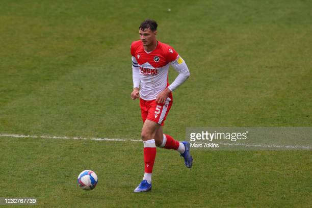 Jake Cooper of Millwall during the Sky Bet Championship match between Coventry City and Millwall at St Andrew's Trillion Trophy Stadium on May 8,...