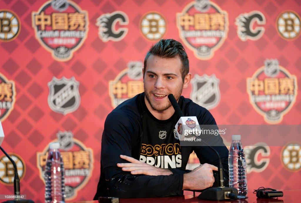 2018 O.R.G. NHL China Games - Boston Bruins v Calgary Flames