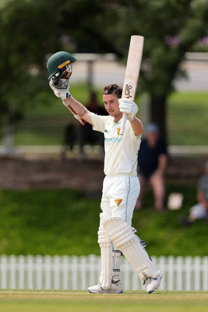 AUS: SA v TAS - Sheffield Shield: Day 3
