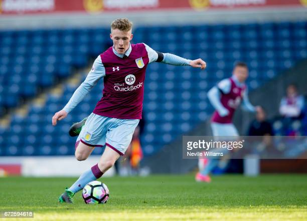 Jake Doyle Hayes of Aston Villa during the Premier League 2 match between Blackburn Rovers and Aston Villa at the Ewood Park on April 24 2017 in...