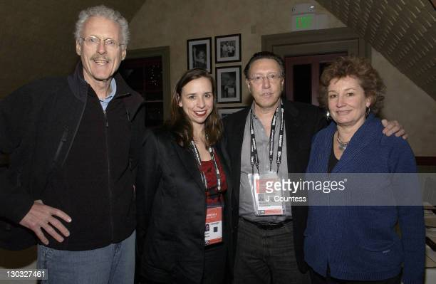 Jake Eberts, Jane Boone, Norman Pearlstein and Fiona Eberts