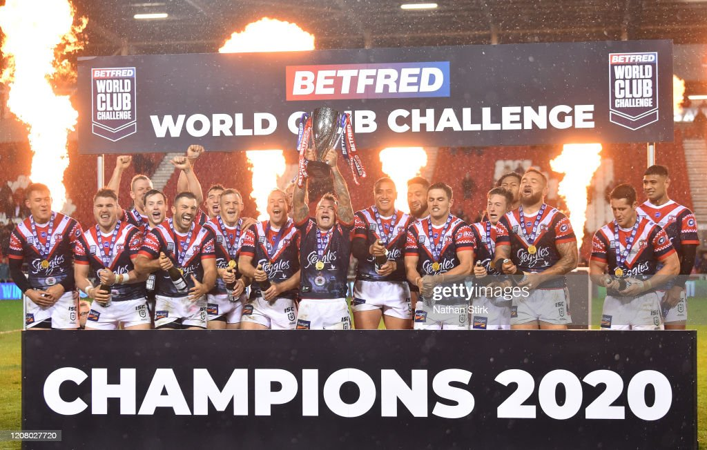 St Helens v Sydney Roosters - World Club Series Final : News Photo