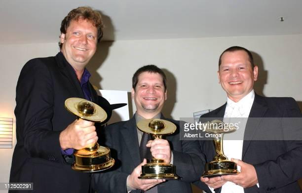 Jake Garber Matt Rose and Mike Elizalde winners for Best Makeup for 'Hellboy'