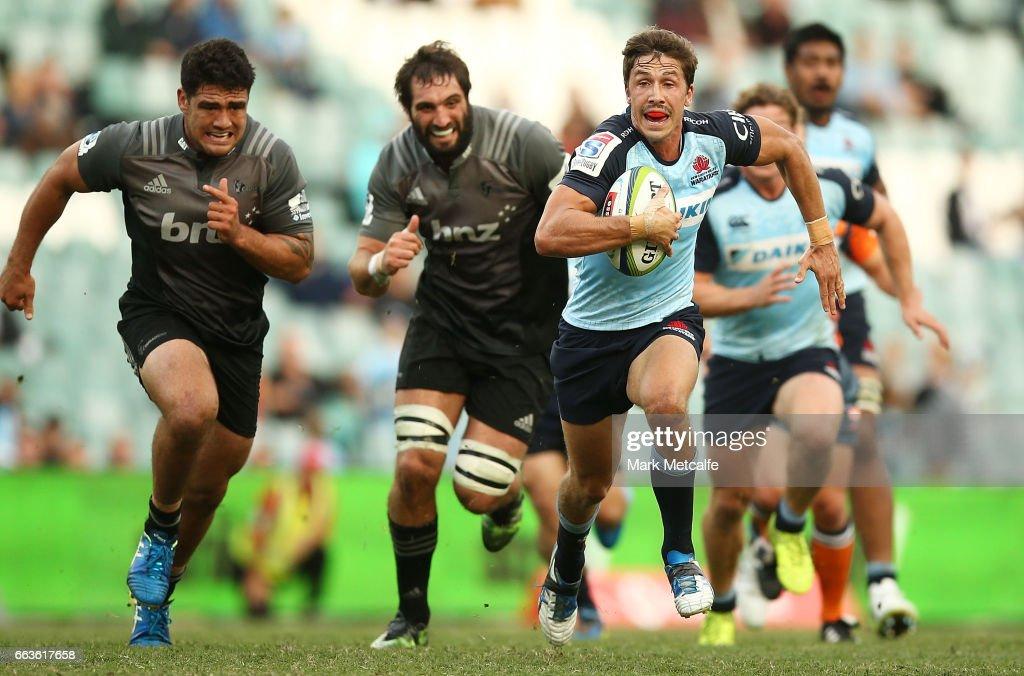 Super Rugby Rd 6 - Waratahs v Crusaders : News Photo