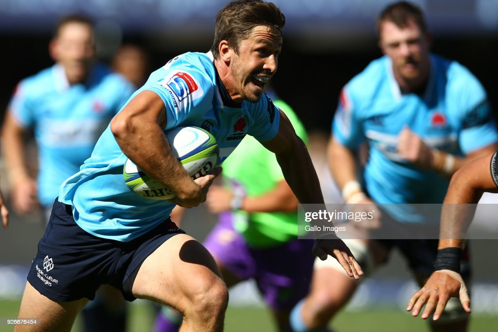 Super Rugby Rd 2 - Sharks v Waratahs : News Photo