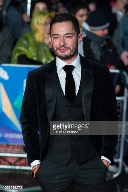 Jake Graf attends the UK film premiere of 'Colette' at Cineworld Leicester Square during the 62nd London Film Festival BFI Patrons Gala October 11...