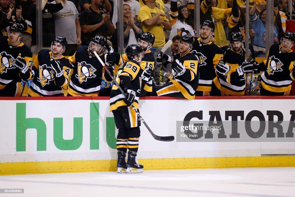 Washington Capitals v Pittsburgh Penguins - Game Four : News Photo