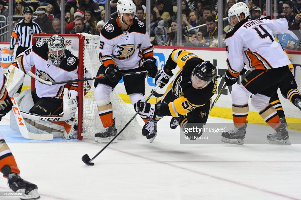 Anaheim Ducks v Pittsburgh Penguins