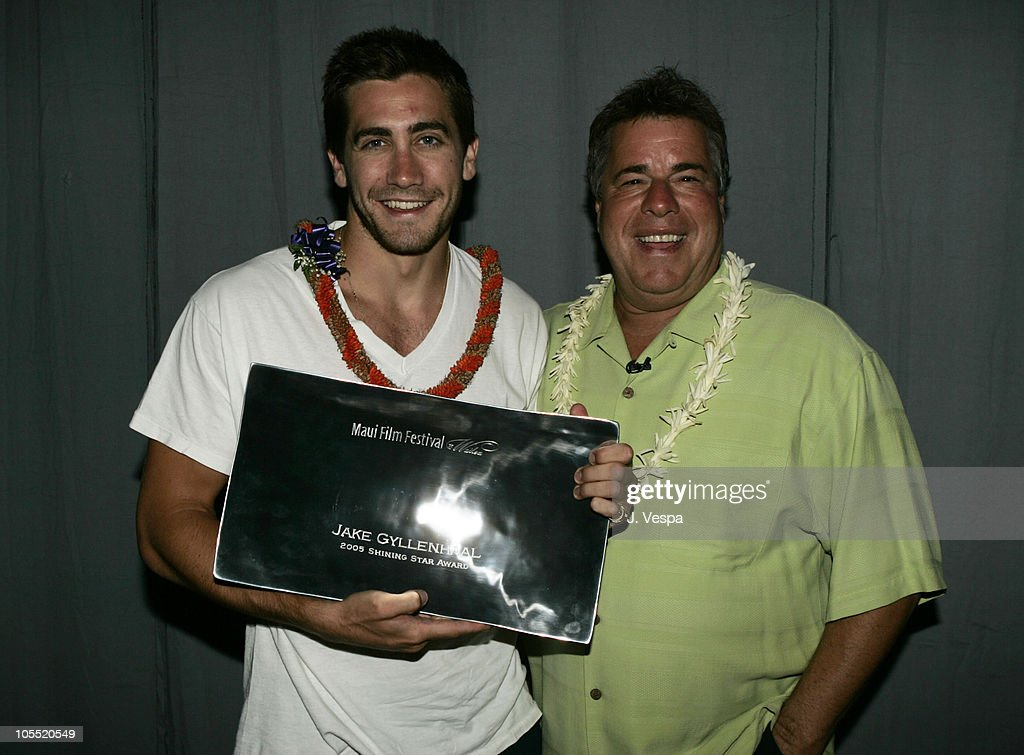 Jake Gyllenhaal and Barry Rivers during 2005 Maui Film Festival - Tribute to Jake Gyllenhaal at Marriott Wailea in Maui, Hawaii, United States.