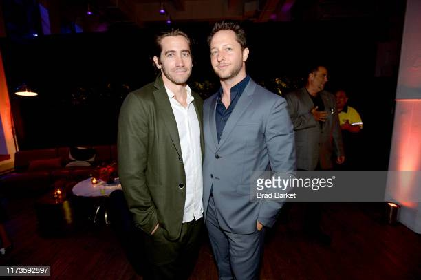 Jake Gyllenhaal and Derek Blasberg celebrate the launch of YouTubecom/Fashion on September 09 2019 in New York City