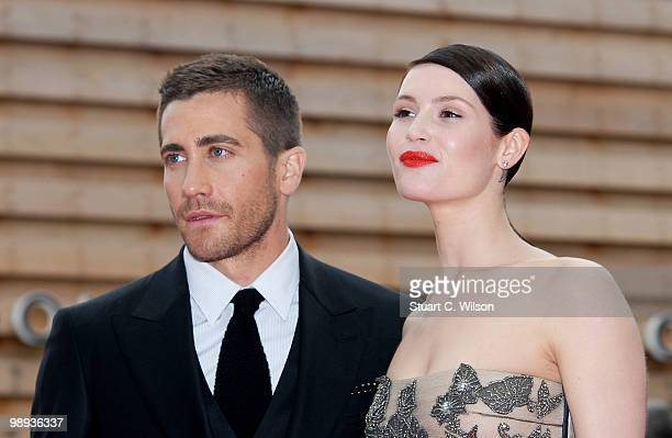 Jake Gyllenhaal and Gemma Arterton attend the World Premiere of 'Prince of Persia: The Sands of Time' at the Vue Westfield on May 9, 2010 in London,...