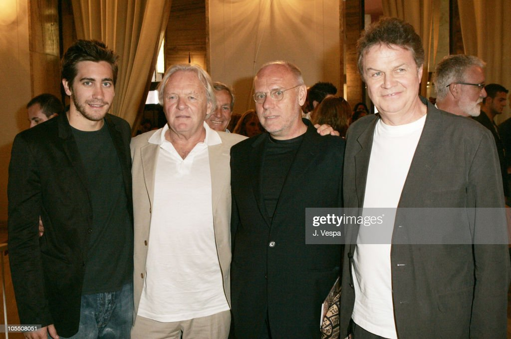Jake Gyllenhaal, Anthony Hopkins, Marco Muller and John Madden