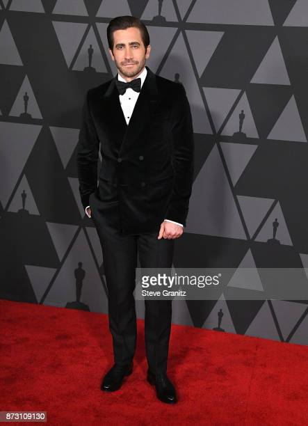 Jake Gyllenhaal arrives at the Academy Of Motion Picture Arts And Sciences' 9th Annual Governors Awards at The Ray Dolby Ballroom at Hollywood...