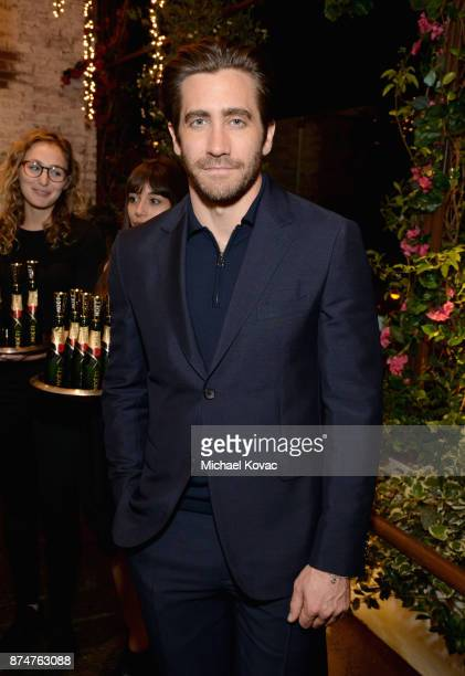 Jake Gyllenhaal at Moet Celebrates The 75th Anniversary of The Golden Globes Award Season at Catch LA on November 15 2017 in West Hollywood California