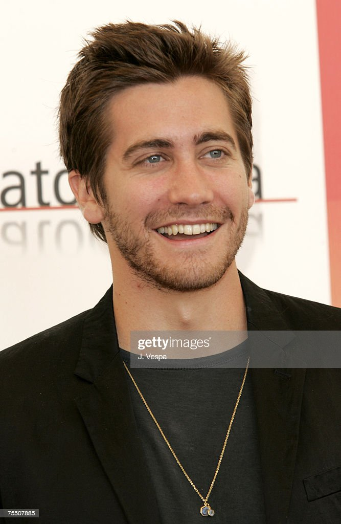 Jake Gyllenhaal at the Casino Palace in Venice Lido, Italy.