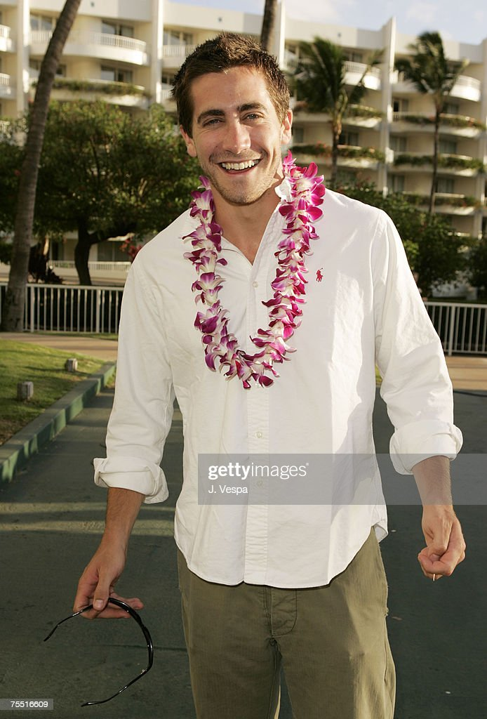 Jake Gyllenhaal at the Fairmont Kea Lani Hotel in Maui, Hawaii