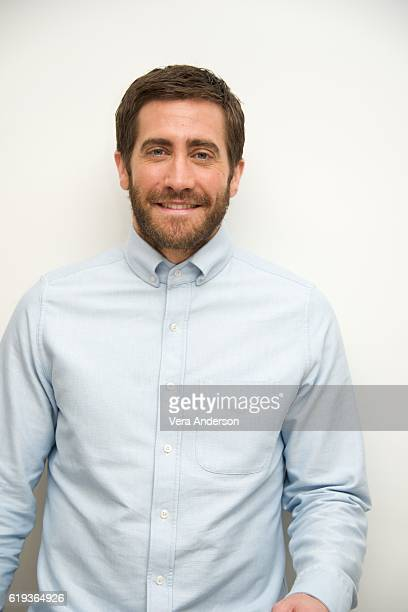 Jake Gyllenhaal at the 'Nocturnal Animals' Press Conference at the Four Seasons Hotel on October 28 2016 in Beverly Hills California