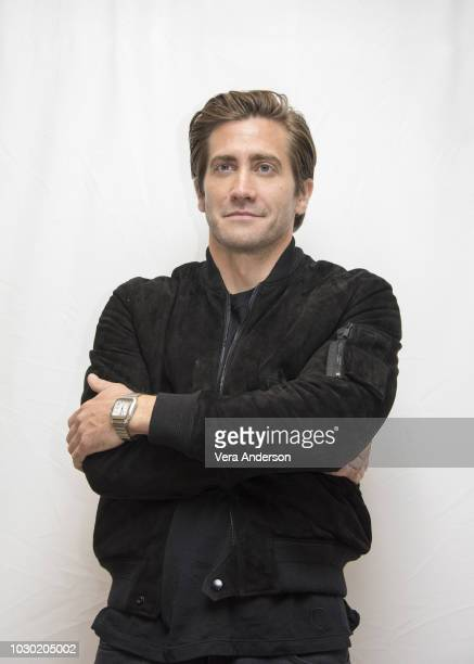 Jake Gyllenhaal at The Sisters Brothers Press Conference at the Fairmont Royal York Hotel on September 9 2018 in Toronto Canada