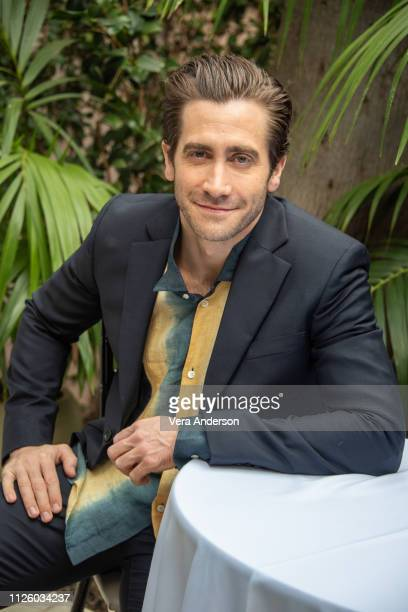 "Jake Gyllenhaal at the ""Velvet Buzzsaw"" Press Conference at the Bel-Air Hotel on January 28, 2019 in Bel Air, California."