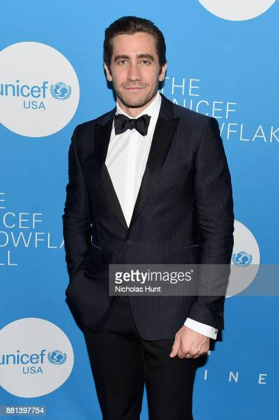 Jake Gyllenhaal attends 13th Annual UNICEF Snowflake Ball 2017 at Cipriani Wall Street on November 28 2017 in New York City