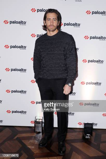 Jake Gyllenhaal attends a Palo Alto Networks dinner to discuss the role cybersecurity plays in Hollywood today at the Virgin Hotels on February 25,...