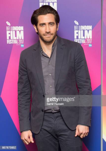 Jake Gyllenhaal attends a Screen Talk at the 61st BFI London Film Festival on October 5 2017 in London England
