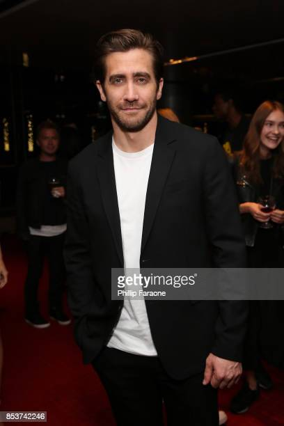 Jake Gyllenhaal attends BOLD Films special Los Angeles screening of STRONGER at CAA's Ray Kurtzman Theater at CAA on September 22 2017 in Los Angeles...