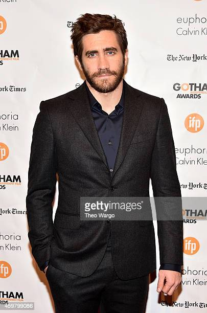 Jake Gyllenhaal attends IFP's 24th Gotham Independent Film Awards at Cipriani Wall Street on December 1 2014 in New York City