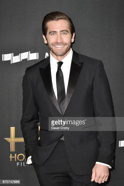 Jake Gyllenhaal attends the 21st Annual Hollywood Film Awards Arrivals on November 5 2017 in Beverly Hills California