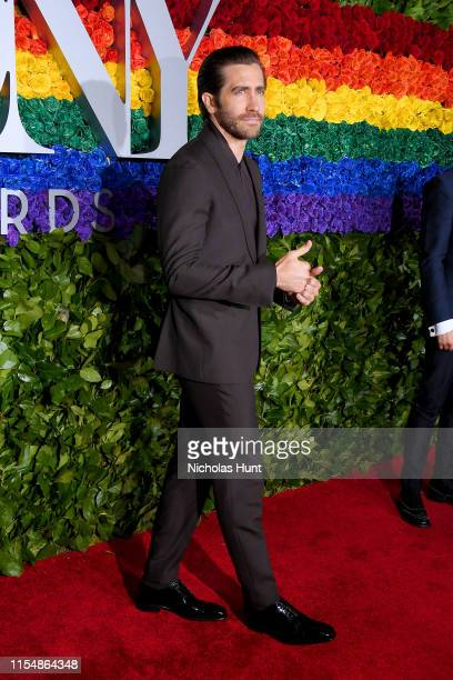 Jake Gyllenhaal attends the 73rd Annual Tony Awards at Radio City Music Hall on June 09, 2019 in New York City.