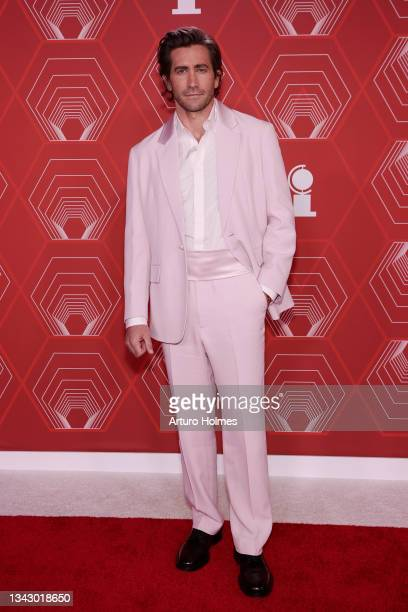 Jake Gyllenhaal attends the 74th Annual Tony Awards at Winter Garden Theater on September 26, 2021 in New York City.