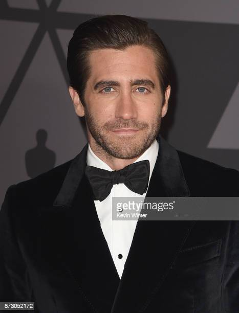 Jake Gyllenhaal attends the Academy of Motion Picture Arts and Sciences' 9th Annual Governors Awards at The Ray Dolby Ballroom at Hollywood &...