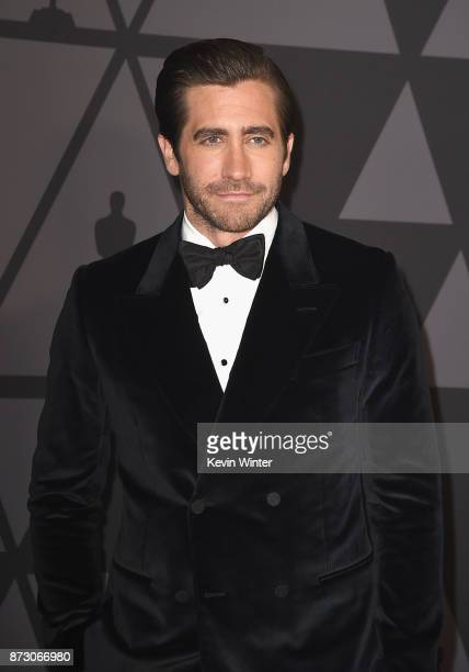 Jake Gyllenhaal attends the Academy of Motion Picture Arts and Sciences' 9th Annual Governors Awards at The Ray Dolby Ballroom at Hollywood Highland...