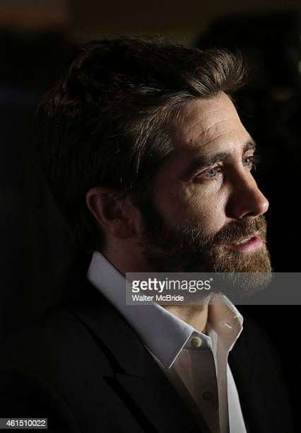 Jake Gyllenhaal attends the Broadway Opening Night Performance Curtain Call for The Manhattan Theatre Club's production of 'Constellations' at the...