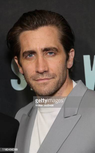"Jake Gyllenhaal attends the Broadway Opening Night performance of ""Sea Wall / A Life"" at the Hudson Theatre on August 08, 2019 in New York City."