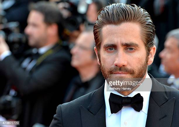 Jake Gyllenhaal attends the 'Carol' premiere during the 68th annual Cannes Film Festival on May 17 2015 in Cannes France
