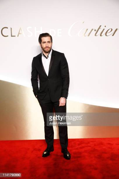 Jake Gyllenhaal attends the 'Clash De Cartier' Launch Photocall At La Conciergerie In Paris on April 10 2019 in Paris France