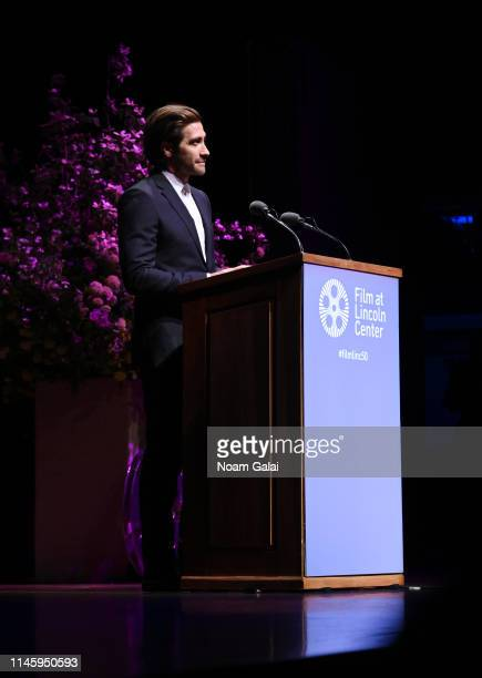 Jake Gyllenhaal attends the Film Society Of Lincoln Center's 50th Anniversary Gala at Lincoln Center on April 29 2019 in New York City
