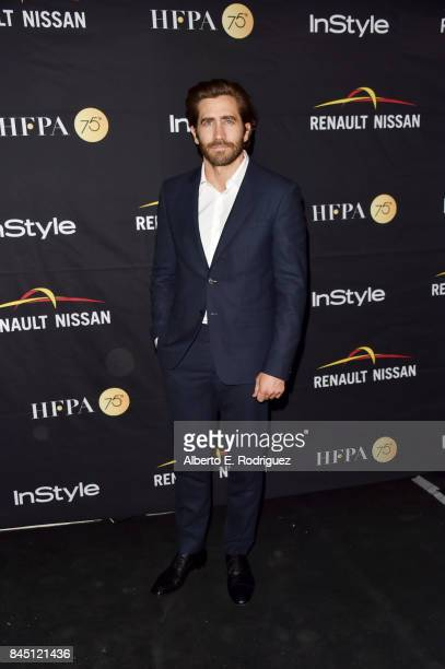 Jake Gyllenhaal attends the HFPA InStyle annual celebration of 2017 Toronto International Film Festival at Windsor Arms Hotel on September 9 2017 in...