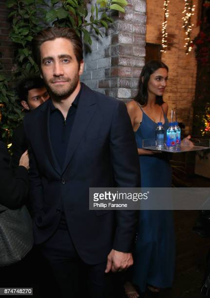 Jake Gyllenhaal attends the HFPA's and InStyle's Celebration of the 2018 Golden Globe Awards Season and the Unveiling of the Golden Globe Ambassador...