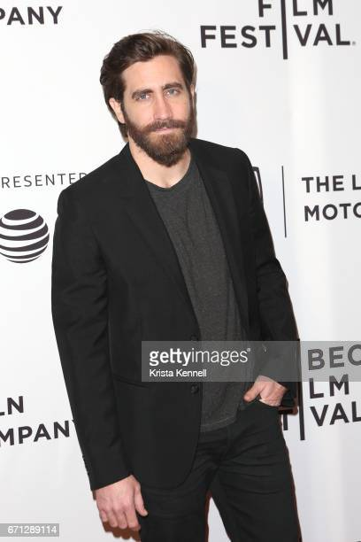 Jake Gyllenhaal attends the Hondros World Premiere during the 2017 Tribeca Film Festival at Cinepolis Chelsea on April 21 2017 in New York City