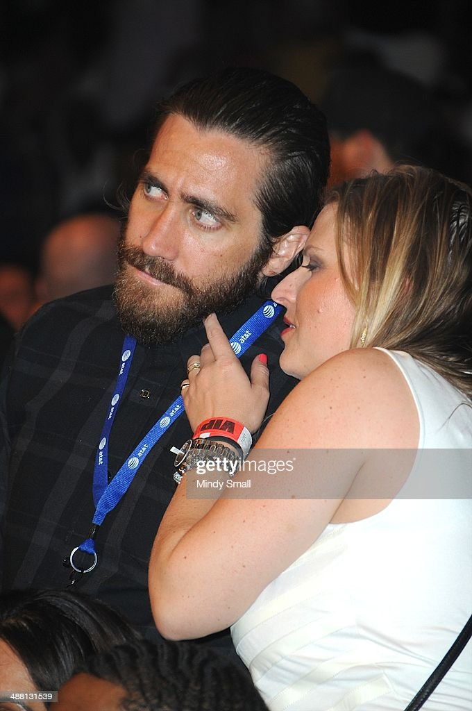 Jake Gyllenhaal attends the Mayweather Vs. Maidana Pre-Fight Party Presented By Showtime at MGM Garden Arena on May 3, 2014 in Las Vegas, Nevada.