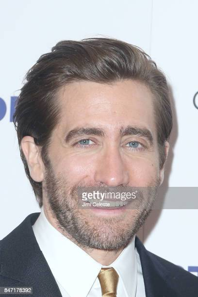 Jake Gyllenhaal attends the New York premiere of 'Stronger' at Walter Reade Theater on September 14 2017 in New York City