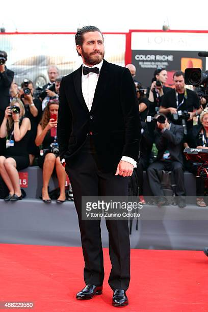 Jake Gyllenhaal attends the opening ceremony and premiere of 'Everest' during the 72nd Venice Film Festival on September 2 2015 in Venice Italy